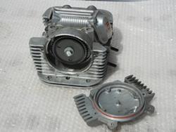 Zylinderkopf hinten Yamaha XV 500