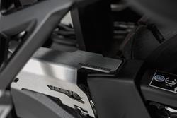 Kettenschutz-Erweiterung. Silbern. Honda CRF1000L (15-17).