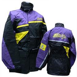Regenjacke DIABLO PVC violett XL/54