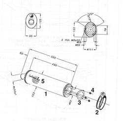 LeoV Titan oval CBR900RR`96-99