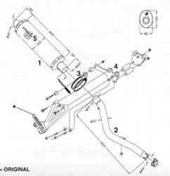 LeoV Carbon oval hoch CBR 600F `01-