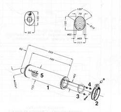 LeoV Carbon oval YZF1000R Thunderace`96-