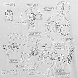 LeoV Alu rund ZX-9R`98-99