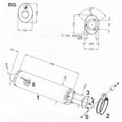 LeoV Titan oval ZX-9R`98-99