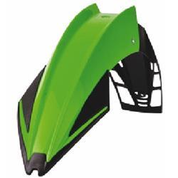 Kotflügel vorne univ. Exura grün