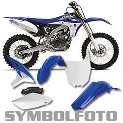 PlastikKit YZ450F `10-13 blau/weiß/sw