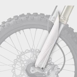 Gabelschutz RM-Z250/450`07- weiß
