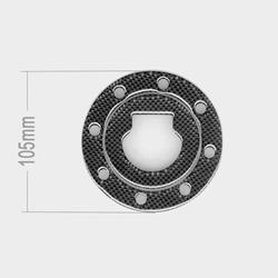 Tankverschlussabdeckung Carbon Suzuki