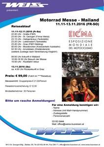Bild von Inforeise EICMA Milano 11-12.11.16