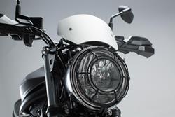 Windschild. Silbern. Suzuki SV650 ABS (15-).