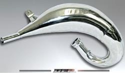 DEP Auspuffbirne 2-Takt KTM 125/150 SX 11-16 / EXC 11-16 Nickel