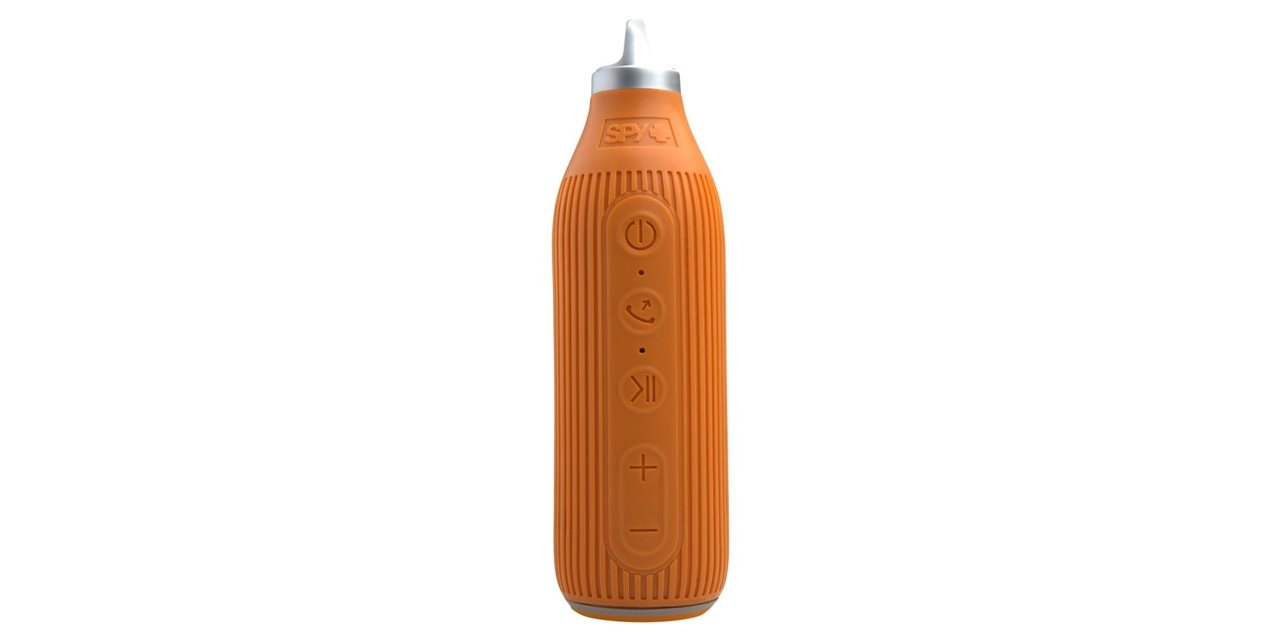 The Beacon Speaker spy orange