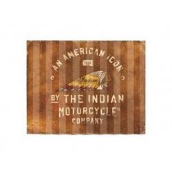 INDIAN Wellblechschild American Icon