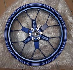 Felge / Rad vorn blau RSV 1000