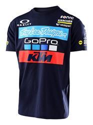 KTM Troy Lee Design Team Tee Navy