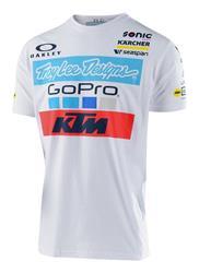 KTM Troy Lee Design Team Tee White