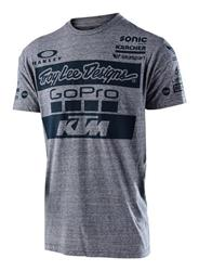 KTM Troy Lee Design Team Tee Charcoal
