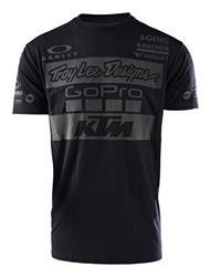 KTM Troy Lee Team Tee Black
