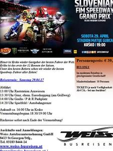 Bild von Bus zum Speedway GP Krsko 29.4.17