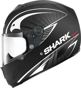 Bild von SHARK RACE-R LUCHA matt schwarz/silber S