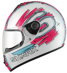 Bild von SHARK S600 SWAG weiss/violett/blau M