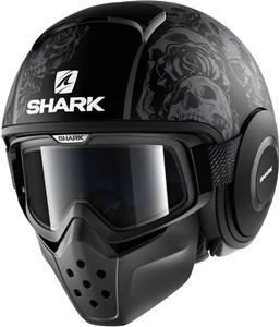 Bild von SHARK DRAK SANCTUS matt schwarz/anthr. XL