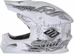 SHOT BLADE Carbon LEGEND Helm weiss shiny S