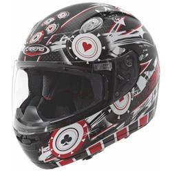 CABERG 103 ACE schwarz/rot/weiss XL
