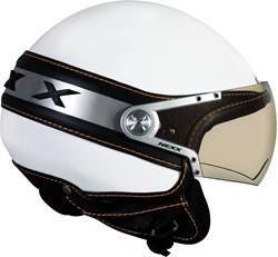 NEXX X60 ICE weiss/chrom XXL