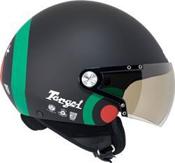NEXX X60 TARGET ITALIA matt schwarz/grün/rot XL