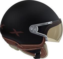 NEXX X60 RAP matt schwarz/braun XS