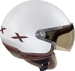 NEXX X60 RAP weiss/braun XS