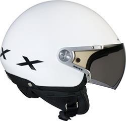 NEXX X60 RAP weiss pearl/schwarz XS