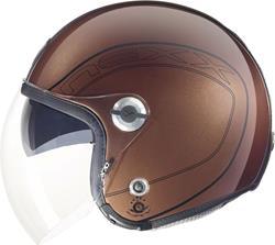 NEXX X70 ACE reddish braun glanz XL