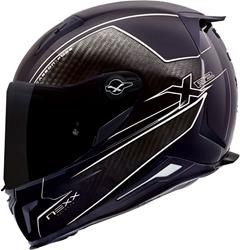 NEXX X.R2 CARBON PURE Integralhelm schw./weiss 3XL