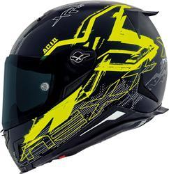 NEXX X.R2 ACID matt schwarz/neon gelb XL