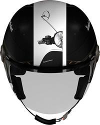 HELIX 3D BOMBOLONE schwarz/weiss dekor XL