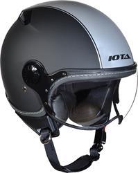 IOTA DP04 RUN matt schwarz/silber XL