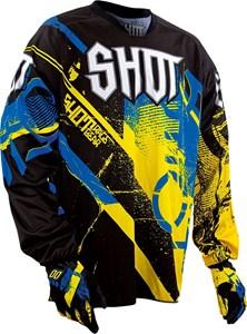 Bild von SHOT DEVO SPARK Jersey gelb/blau XXL