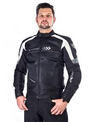 IXON ALLOY Jacke schwarz/weiss XL