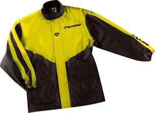 Bild von IXON NEON Regenjacke schwarz/gelb XL