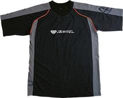 IXON PADDOCK MEN T-Shirt sw./anth./orange XXL