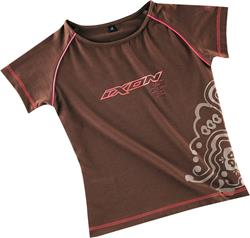 IXON MARRON LADY T-Shirt braun/pink L