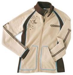 IXON SUNLINE LADY Zipp-Jacke creme/braun XS