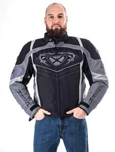 Bild von IXON SUCCESS Textiljacke schwarz/grau S