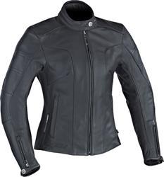 IXON CRYSTAL SLICK Damenlederjacke schwarz L