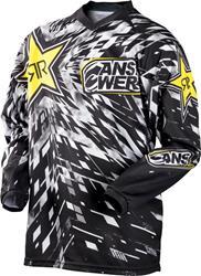 ANSWER ROCKSTAR Jersey schwarz/weiss/gelb XL