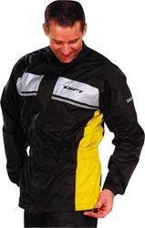 DIFI SEISMO Regenjacke schwarz/gelb XS