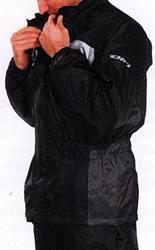 DIFI SEISMO Regenjacke schwarz/grau L
