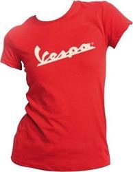 VESPA DAMEN T-Shirt rot M